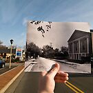 Looking Into the Past: Market Street, Leesburg, VA by Jason Powell