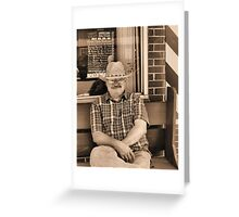 Chillin' Out Greeting Card