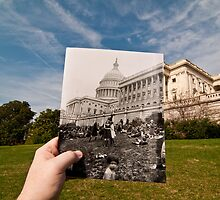 Looking Into the Past: Easter Egg Roll at the US Capitol by Jason Powell