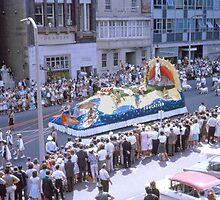 Waratah Festival Parade, Sydney 1963 by Adrian Paul