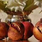 Pomegranates, Rutherglen, Australia by Georgina James