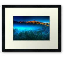 Morning Fog Near Lake Eildon Framed Print