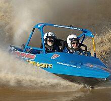 Cabarita V8 Jetsprints - TUNN-A-GUTS by Ian Colley