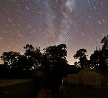 Telescope under the Stars by Andrew Murrell