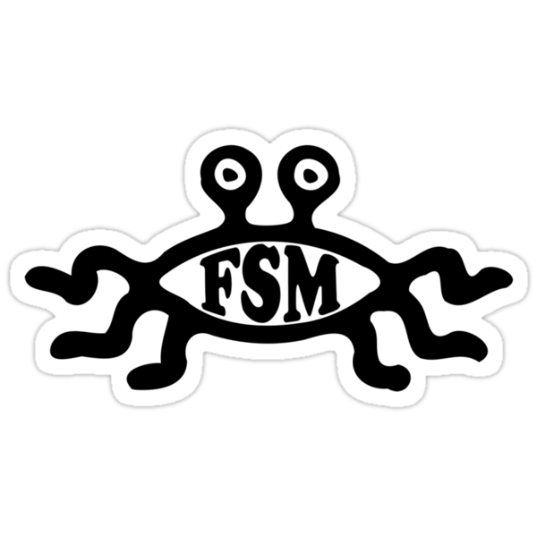 Flying Spaghetti Monster by crazytees