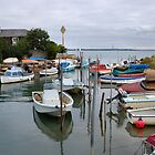 GURNARD MARSH. ISLE OF WIGHT.MOORINGS. by ronsaunders47