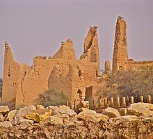 City of Old Ad'Diriyah, Saudi Arabia  by Elvira