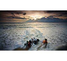 Drag Me to the Sea Photographic Print