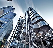 The Lloyds Building - Version 2 by LeeMartinImages
