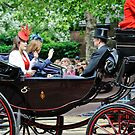 Princess Eugene... Trooping of the Colour, London, UK. by DonDavisUK
