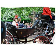 Princess Eugene... Trooping of the Colour, London, UK. Poster