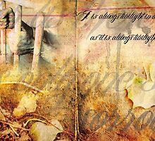 It is always twlight in ones cell, as it's always twlight in ones heart. by gemster91