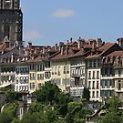 Bern Cathedral  MÜNSTER and old town by eveline