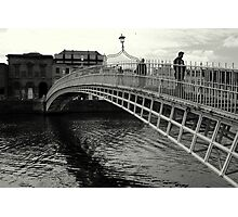 Ha'Penny bridge Photographic Print