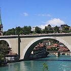 Nydegg bridge Bern, Switzerland by eveline