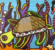 Under the Sea Turtle by Amanda R. Wright