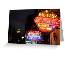 407 Bourbon Street Greeting Card