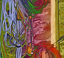 Cable Chaos by sarnia2