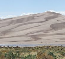 Great Sand Dunes National Park Panorama #C10-001 by Christopher Heil