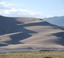 Great Sand Dunes National Park #C10-002 by Christopher Heil