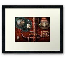 SteamPunk - Controls Framed Print