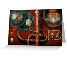 SteamPunk - Controls Greeting Card