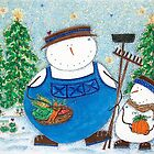 Snowman Farmer by Cathy Moody
