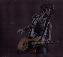 Keith Richards Paint It Black by mariana95