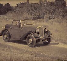 Morris Eight 2 Seater Tourer (Aged) by Aggpup