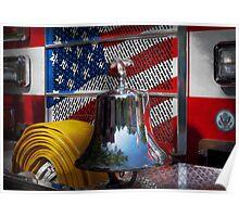 Fireman - Red Hot  Poster