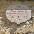Church yard plaque by relayer51