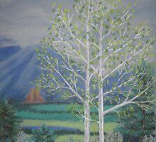 First of May, Crawford, Colorado by Susan Genge