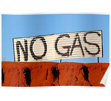NO GAS @ James Price Point Poster