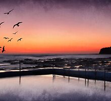 Collaroy Pool by Ann  Van Breemen