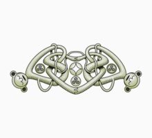 Celtic Triple Heart Shaded by Rustyoldtown