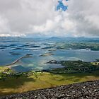 Holy blue view from Croagh Patrick by Fatboy