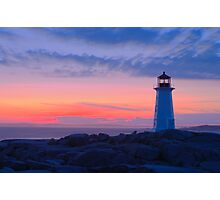 Peggy's Cove Light Photographic Print