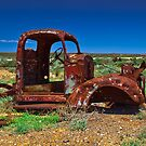 Long Term Parking - South Australian Desert by Mark Mathieson