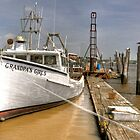Delaware Bay Crab Boat by Monte Morton