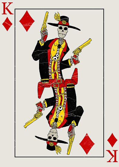 King of Diamonds by MushfaceComics