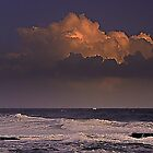Cloud at Tamariz beach         Estoril by BaZZuKa