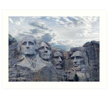 Four Presidents Art Print