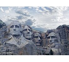 Four Presidents Photographic Print