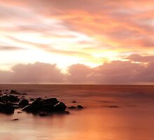 4 Mile Beach Sunrise -  Panoramic - Port Douglas - QLD - Australia by Chris Sanchez