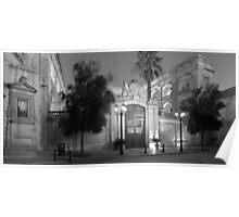 Vilhena Palace monochrome Poster
