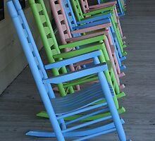Beach Rocking Chairs by Paulette1021
