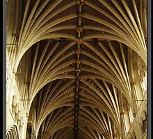 Exeter Cathedral Roof by milesphotos