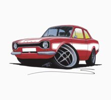 Ford Escort (Mk1) RS2000 Red by Richard Yeomans