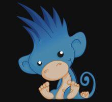 BigHair Monkey mascot no logo by bighairmonkey