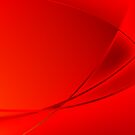 Abstract red background by robertosch